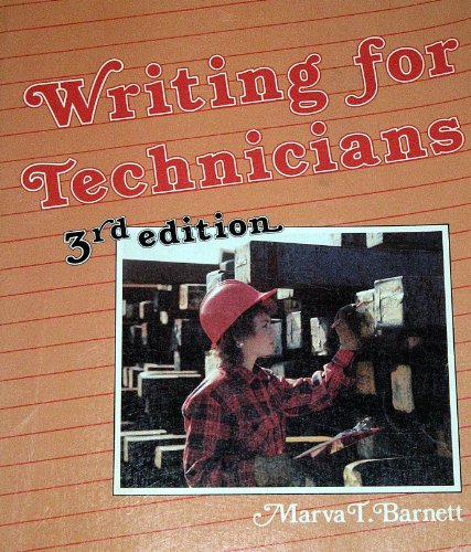 9780827328334: Writing for Technicians