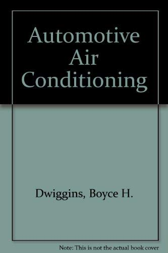 9780827330818: Automotive Air Conditioning