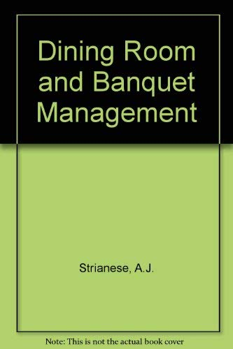 9780827333079: Dining Room and Banquet Management