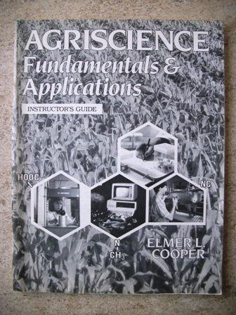 9780827333956: Agriscience: Fundamentals & applications
