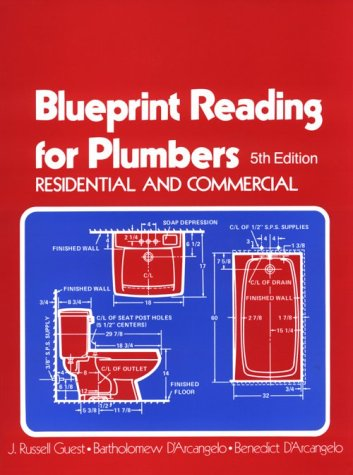 9780827334595: Blueprint Reading for Plumbers in Residential & Commercial (Blueprint Reading Series)