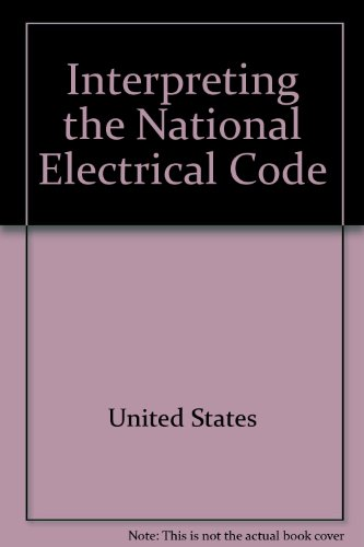 9780827334878: Interpreting the National Electrical Code