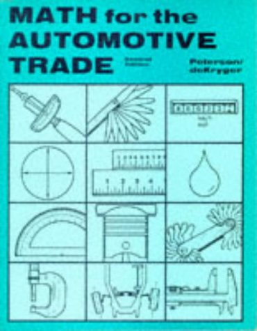 9780827335547: Math for the Automotive Trade
