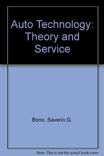 9780827338111: Auto Technology: Theory and Service