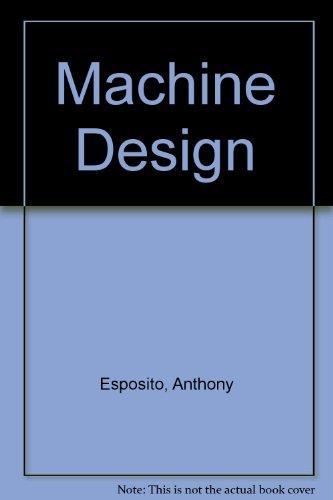 9780827338234: Machine Design