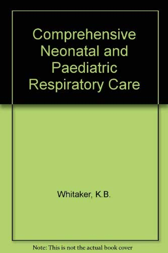 9780827338500: Comprehensive Perinatal and Pediatric Respiratory Care