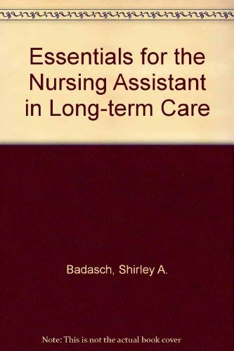 9780827339897: Essentials for the Nursing Assistant in Long-Term Care