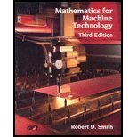9780827340428: Mathematics for Machine Technology