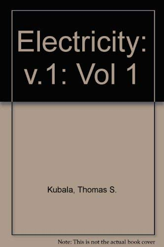 9780827340565: Electricity 1: Devices, Circuits and Materials (Vol 1)
