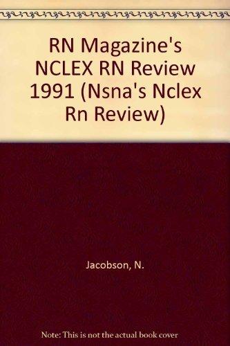 9780827346468: R.N. Magazine's Nclex-Rn Review, 1991