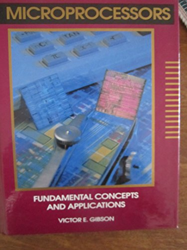 9780827347618: Microprocessors: Fundamental Concepts and Applications