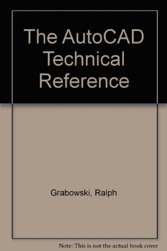9780827348202: The Autocad Technical Reference