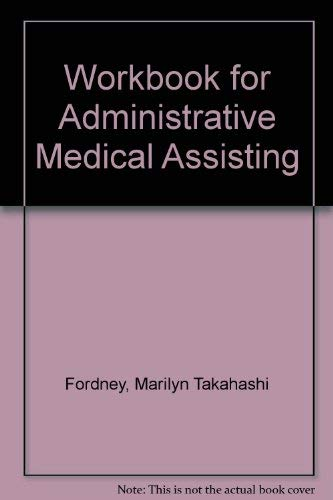 9780827349445: Workbook for Administrative Medical Assisting