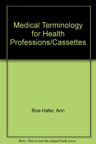 9780827349797: Medical Terminology for Health Professions/Cassettes
