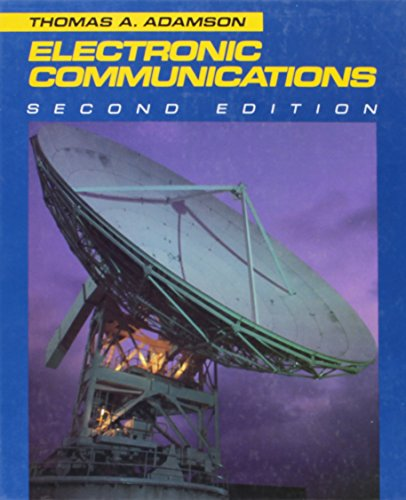 Electronic Communications: Thomas A. Adamson