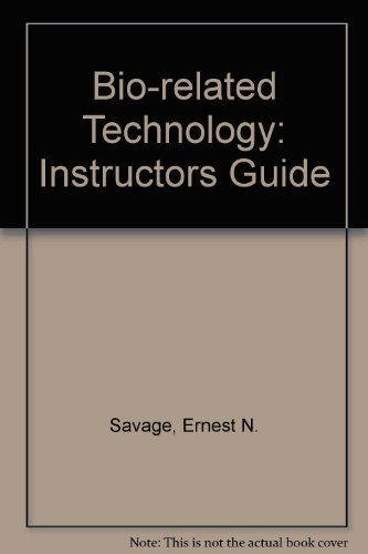 9780827351097: Bio-Related Technology: Instructors Guide