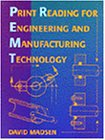 9780827352353: Print Reading for Engineering and Manufacturing Technology