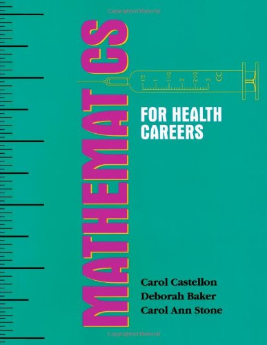 9780827355699: Mathematics for Health Careers
