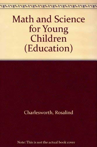 9780827358690: Math and Science for the Young Child (Education)