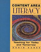 9780827359543: Content Area Literacy: Teaching for Today and Tomorrow (Teaching Methods)