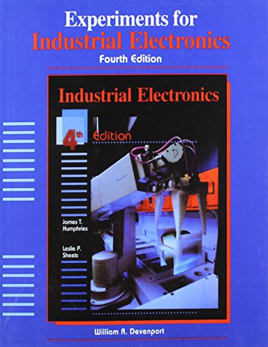 9780827359697: Experiments for Industrial Electronics