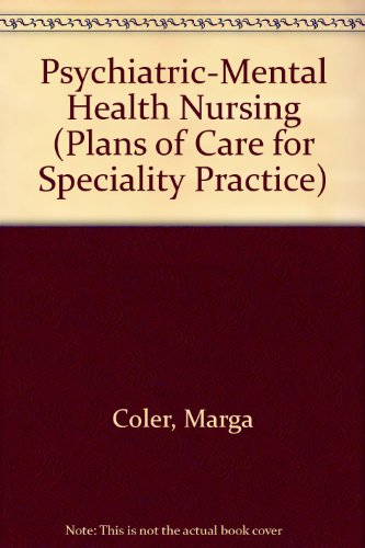 9780827361027: Psychiatric-Mental Health Nursing (Plans of Care for Speciality Practice)