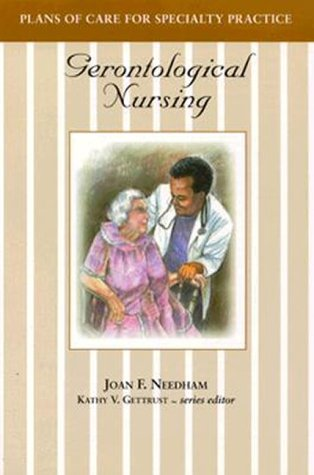 9780827362260: Plans of Care for Specialty Practice: Gerontological Nursing