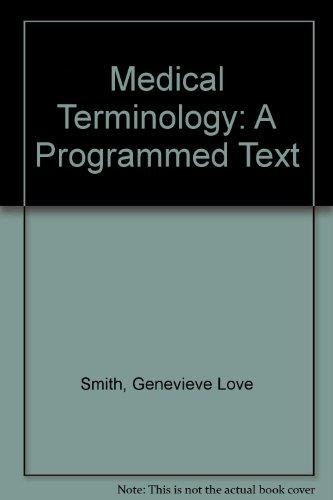 9780827363045: Medical Terminology: A Programmed Text