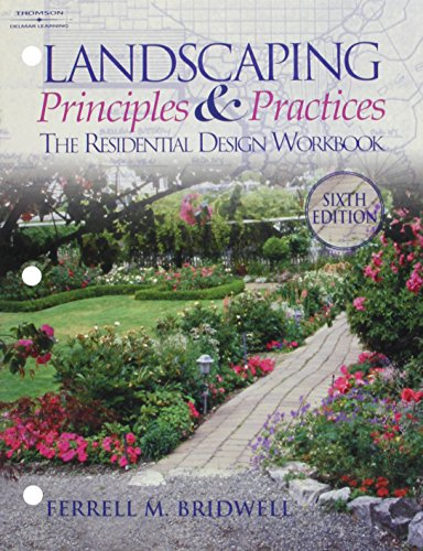9780827365407: Landscaping Principles and Practices: The Residential Design Workbook