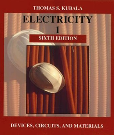 9780827365742: Electricity 1: Devices, Circuits and Materials