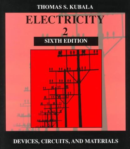 9780827365759: Electricity 2: Devices, Circuits, & Materials