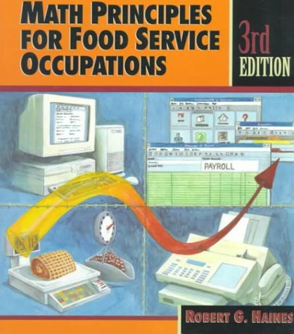 9780827366497: Math Principles for Food Service Occupations