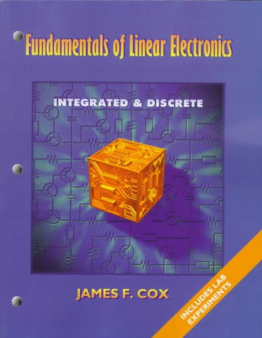 9780827368514: Fundamentals of Linear Electronics: Integrated & Discrete Circuitry