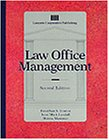 Law Office Management (second edition) (Lq-Paralegal): Jonathon Lynton, Terri