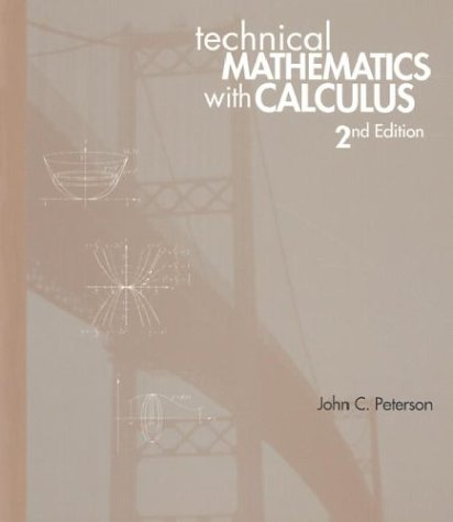 9780827372436: Technical Mathematics With Calculus