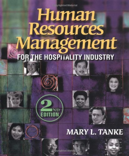 Human Resources Management for Hospitality: Tanke, Mary