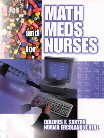 9780827373310: Math and Meds for the Nurse