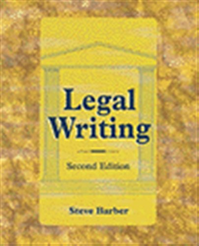 9780827375390: Legal Writing