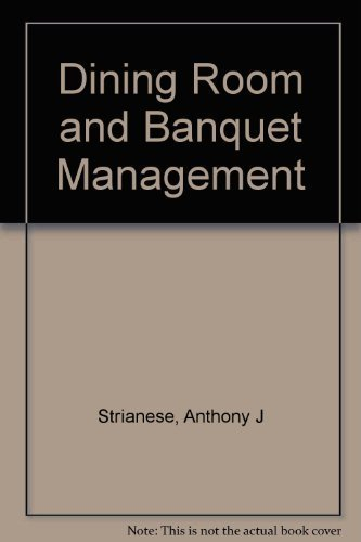 9780827375673: Dining Room and Banquet Management