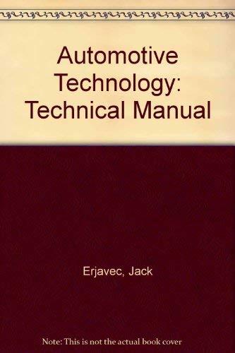 9780827375888: Automotive Technology: A Systems Approach
