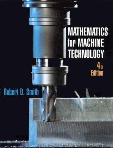 9780827379428: Mathematics for Machine Technology