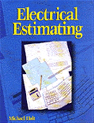 Electrical Estimating: Holt, Michael