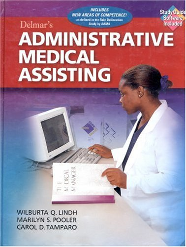 9780827385283: Delmar's Administrative Medical Assisting (Book with Diskette)
