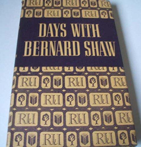 9780827421561: Days with Bernard Shaw