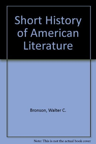9780827433984: Short History of American Literature