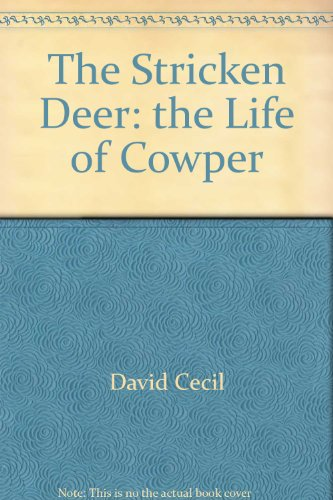 9780827435285: Stricken Deer or the Life of Cowper