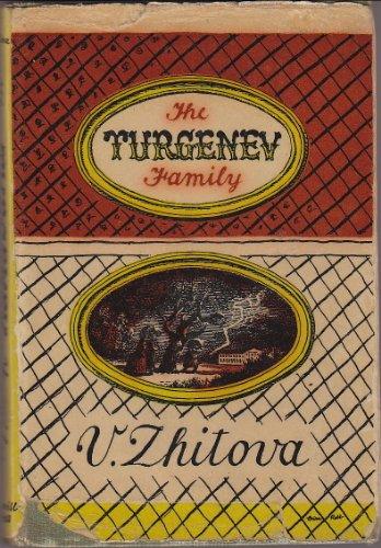 The Turgenev Family: Mme. V. Zhitova