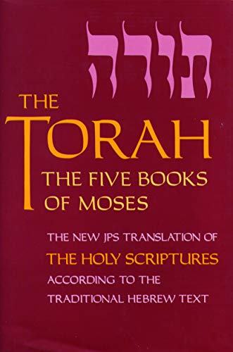9780827600157: The Torah: The Five Books of Moses, the New Translation of the Holy Scriptures According to the Traditional Hebrew Text