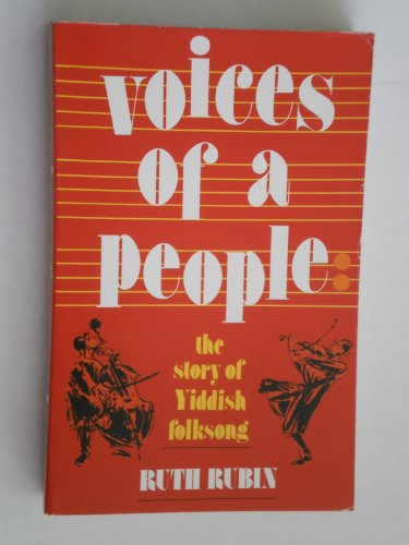 9780827601215: Voices of a People: The Story of Yiddish Folksong