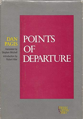9780827602007: Point of Departure (Jewish Poetry Series)